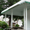 Aluminum Awning with Rain Gutter in New Hyde Park