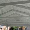 Underside of Carport with Structural Integrity