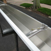 Aluminum Hidden Hangers (Screwed to Wood Fascia)