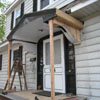 Rebuilding a Portico - Photo 2 of 3