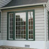 Vinyl Dead-Lite Windows with Colonial Grids in Bayside
